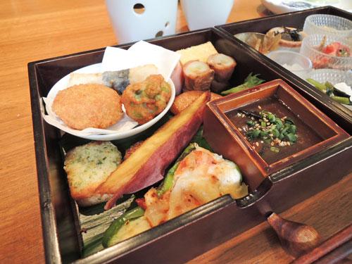やさい家めいの宝菜箱弁当の2段目