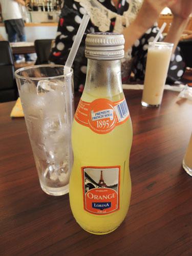 FREEMAN CAFE(フリーマンカフェ)のオレンジエードソーダ