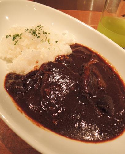洋食MIYASHITAの牛ホホ肉のハヤシライス