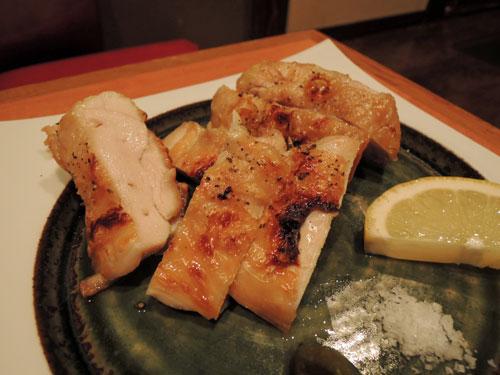 大黒屋の日向地鶏の黒ゴマ七味焼き