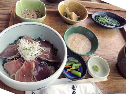 和食えんのまぐろの中とろ炙り丼(全体)