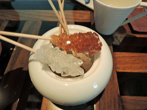 マンダリンオリエンタル東京のアフタヌーンティー、お砂糖