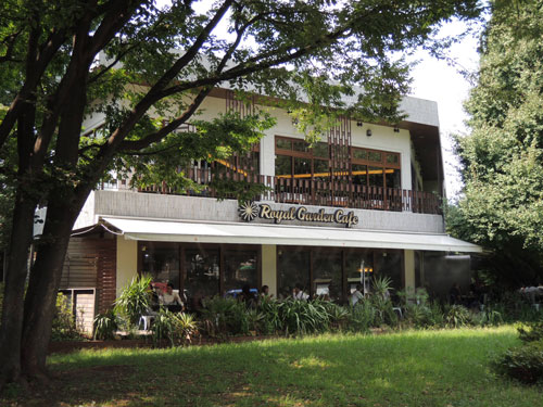 Royal Garden Cafe(ロイヤルガーデンカフェ)、外観