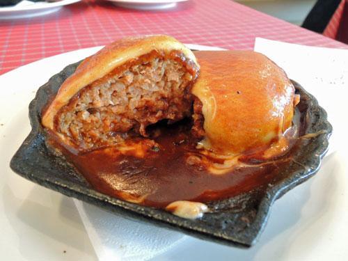 洋食キムラ、チーズハンバーグ