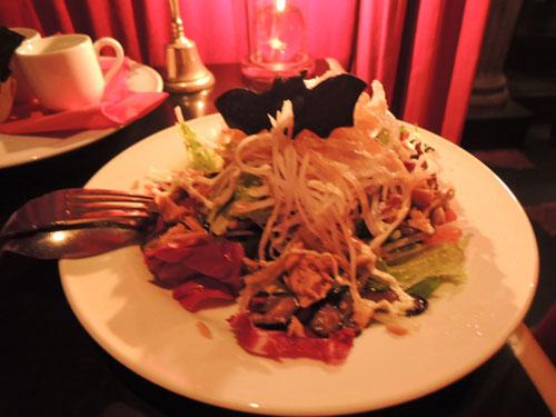 ヴァンパイアカフェ、和風サラダ