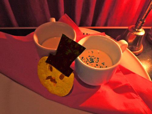 ヴァンパイアカフェ、カボチャの冷製ポタージュ