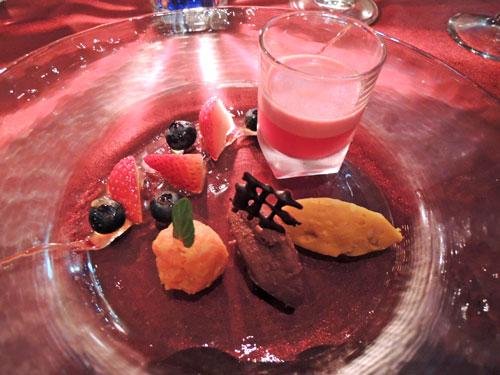 ブルガズ アダ(BURGAZ ADA)トルコ料理、デザートの盛り合わせ